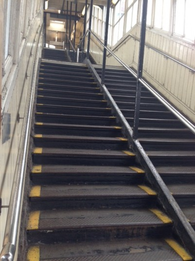 Steps at Royal Oak station will be replaced