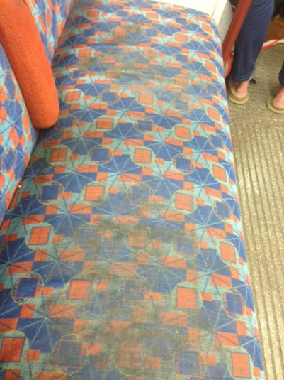 Bakerloo dirty seats portrait