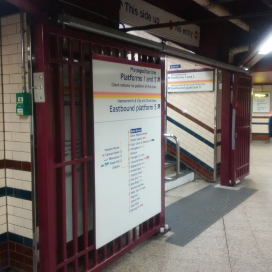 Has anyone noticed these new gates appearing on the tube system?